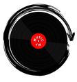Vinyl record-LP vector image