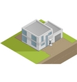 house illustration vector image
