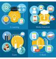 School Online E-Learning E-Book Exam Concept vector image