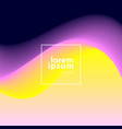 abstract wave template vector image