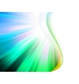 Colorful smooth twist light lines EPS 8 vector image vector image