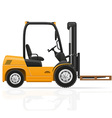 forklift truck 03 vector image