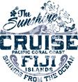 Coral coast vector image