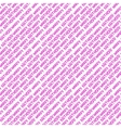 seamless pattern with inscription Happy Birthday vector image