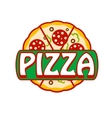 Pizza banner vector image vector image