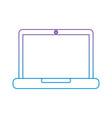 laptop computer device technology digital screen vector image