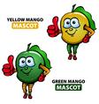 Mango Mascot vector image