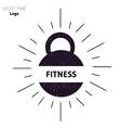 Power fitness gym logo vector image