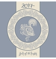original design for new year celebration chinese vector image
