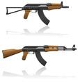 Automatic machine AK 47 03 vector image