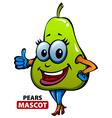 Pears Mascot vector image