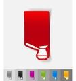 realistic design element turk vector image
