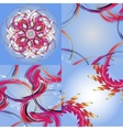 Set of Abstract modern wave colorful background vector image