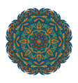 mandala eastern pattern zentangl round ornament vector image