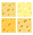 Seamless cheese matrix vector image
