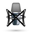 studio condenser microphone vector image