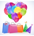 gift packets vector image