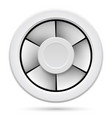 icon of electric fan on white background vector image