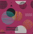 modern simple seamless pattern with geometric vector image