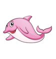 a shark fish vector image