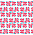 Christmas nordic seamless pattern vector image vector image