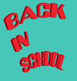 back in school-01 vector image