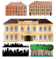 architecture collection vector image vector image