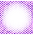 Abstract Mosaic Purple Background vector image