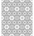 Monochrome abstract geometric seamless pattern vector image