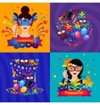 Ball Carnival Compositions vector image
