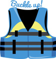 Buckle Up vector image
