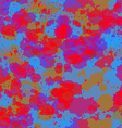 seamless abstract pattern spring red blue art vector image