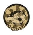 with Brazilian Jiu Jitsu vector image
