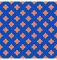 Cross geometric seamless pattern 6410 vector image