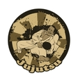 with Brazilian Jiu Jitsu vector image