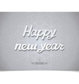 Happy new year inscription on texture vector image