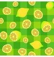 lemons seamless pattern vector image vector image