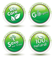 Environmental Awareness Icons vector image vector image