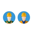 Set of builders icons vector image
