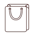 shopping purchase bag vector image