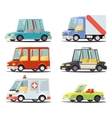 Transport Car Vehicle Icon Design Stylish Retro vector image
