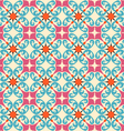 seamless background with floral decorative pattern vector image vector image