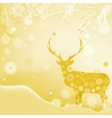 Christmas Invitation card template EPS 8 vector image