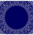 porcelain style frame vector image