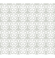 white floral lacy pattern vector image