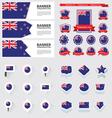 SET New Zealand vector image