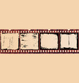 Grunge Film Cells smaller size vector image