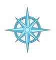 Wind rose - compass star vector image