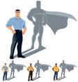 Man Superhero Concept vector image vector image