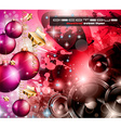 2014 Happy new year Party background vector image